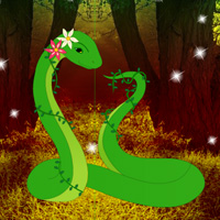Games2Rule Fantasy Green Snake Rescue