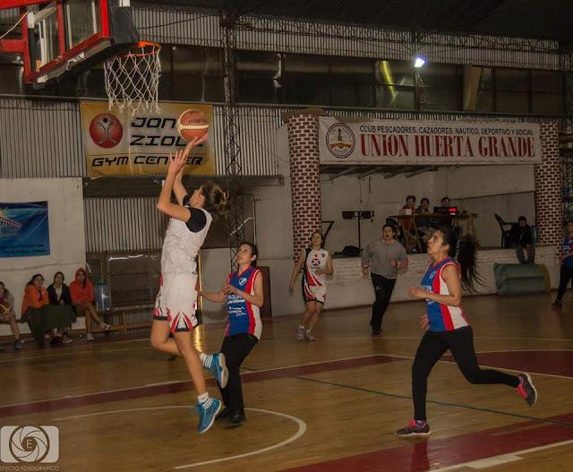 En el basquet femenino manda La Falda