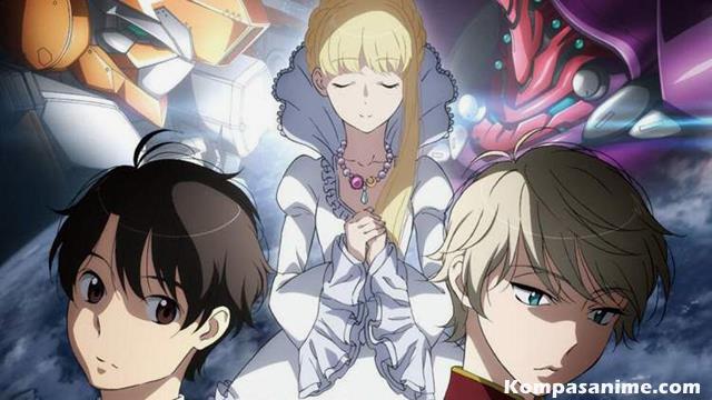 anime Sci-fi terbaik winter 2015