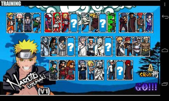 download naruto senki full character