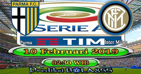 Prediksi Bola855 Parma vs Inter Milan 10 Februari 2019