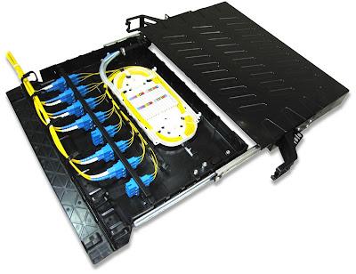 Пластиковый оптический кросс FODF-1U-P-S