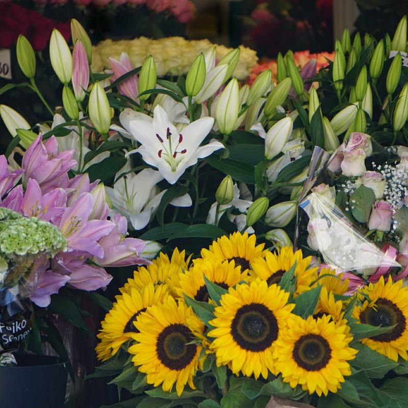 Tallinna, viru-katu, kukkakauppa