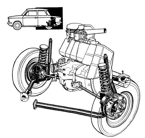 Yorkshire Ferret: The NSU Prinz engine
