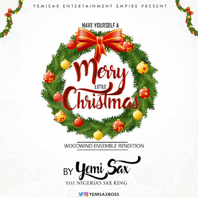 "JPEG: Yemi Sax- ""Have Yourself A Merry Little Christmas"""