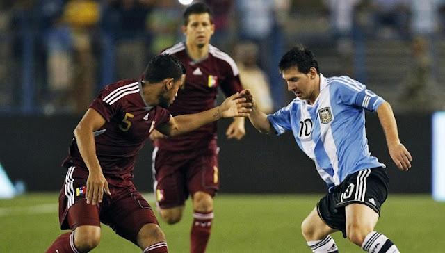 Argentina vs Venezuela en vivo directo Eliminatorias Mundial 5 Setiembre