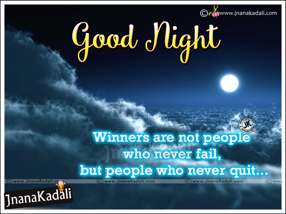 Good Night Motivational Quotes In English: Good Night Wishes Quotes In English-Motivational English
