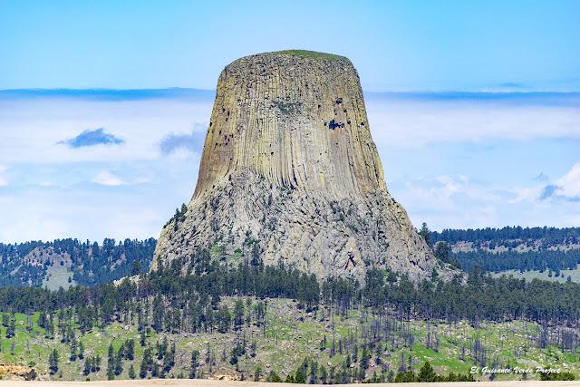 Monumento Nacional de la Torre del Diablo - Wyoming por El Guisante Verde Project