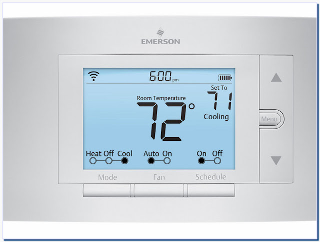 Emerson thermostats sensi smart thermostat wi-fi up500w