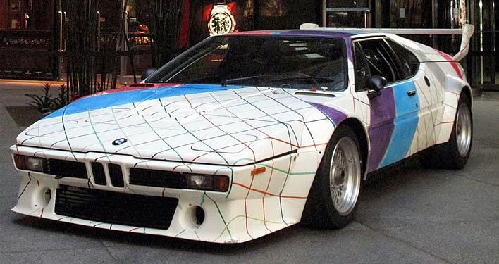 Baurspotting: Frank Stella's M1 Art Car Sold at Auction ...