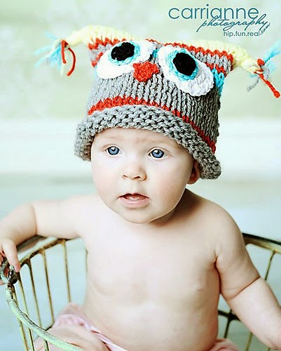 SHE MAKES HATS: knit hats for baby boys
