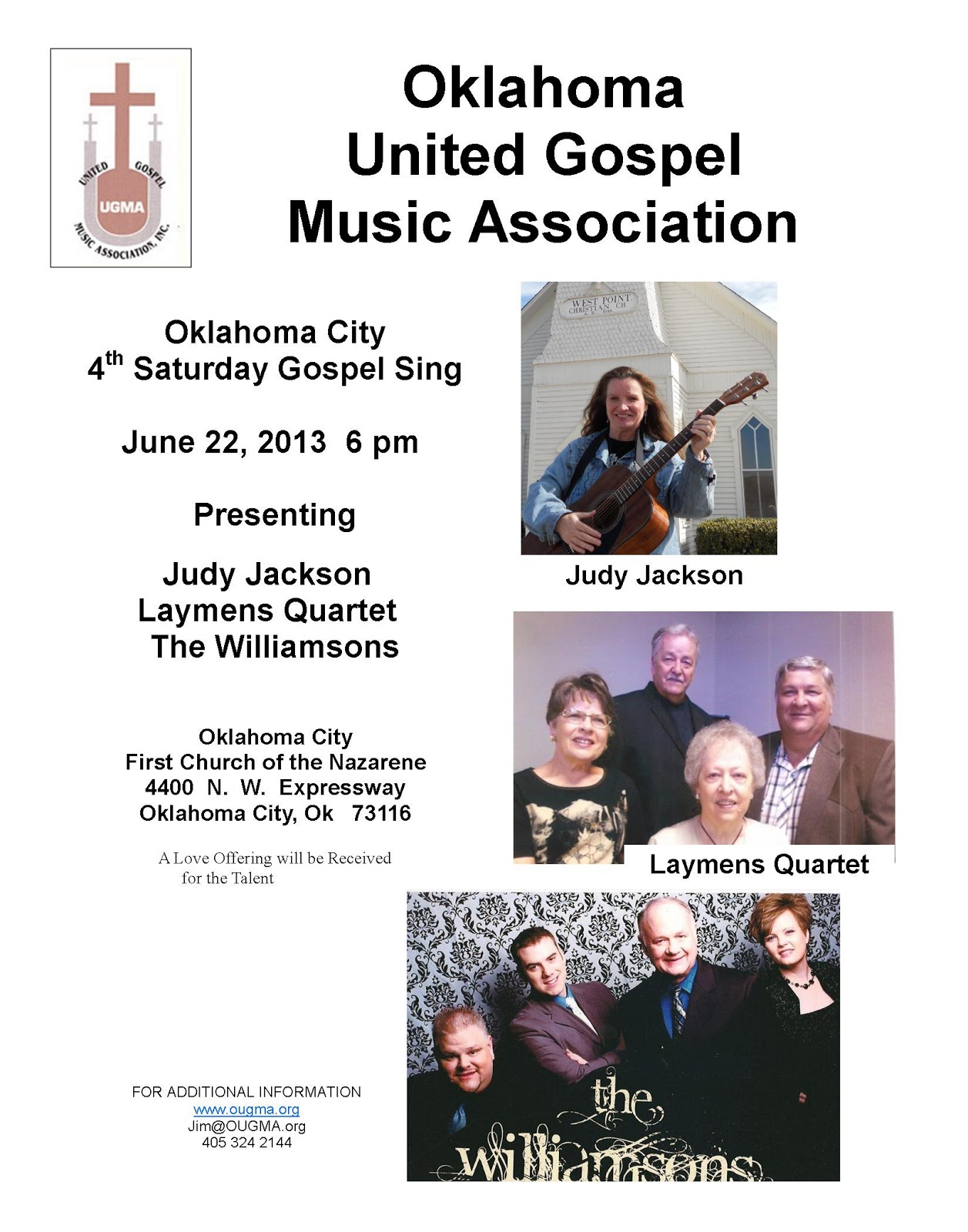Oklahoma United Gospel Music Association: Two Great Concerts