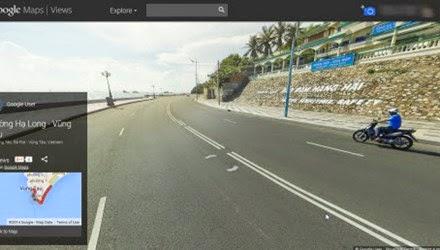 Google Street View chính thức có mặt tại Việt Nam
