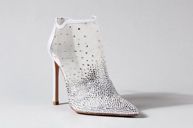 zapatos de novia trasnparente