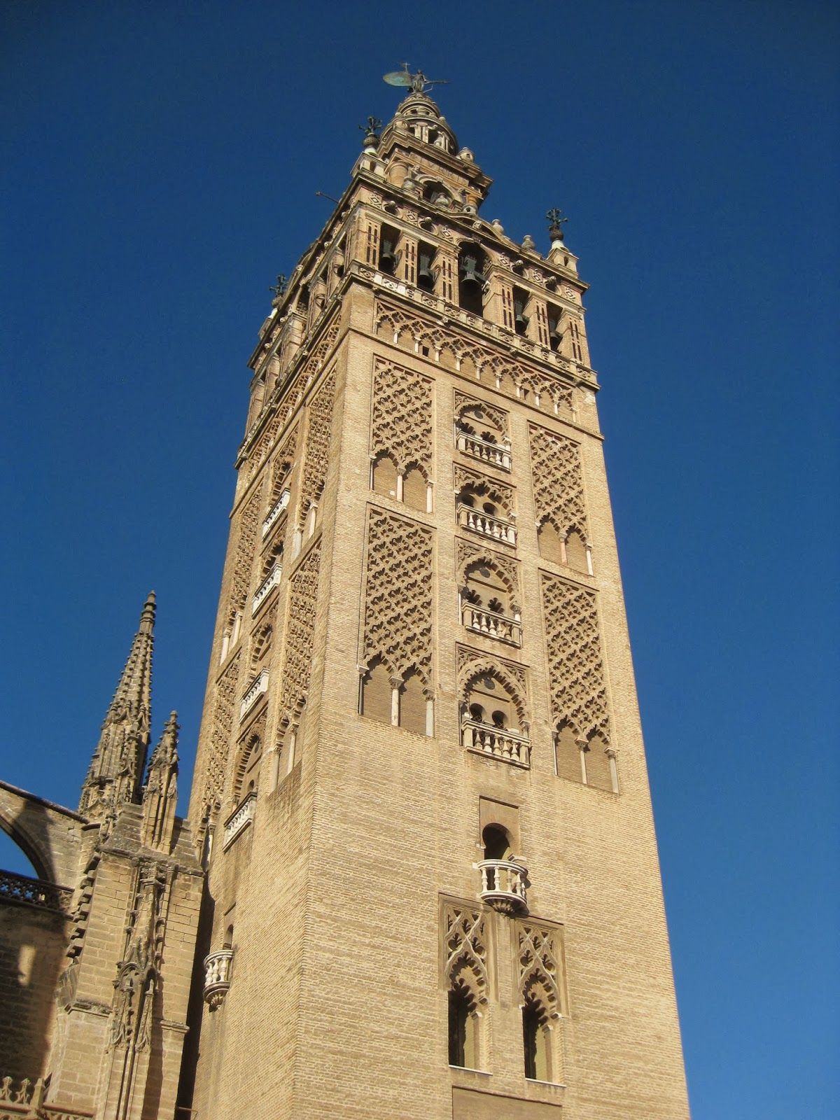 Seville - Giralda bell tower