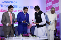 Amitabh Bachchan Launches Worlds 1st Mobile App Abc Of  Health 010.JPG