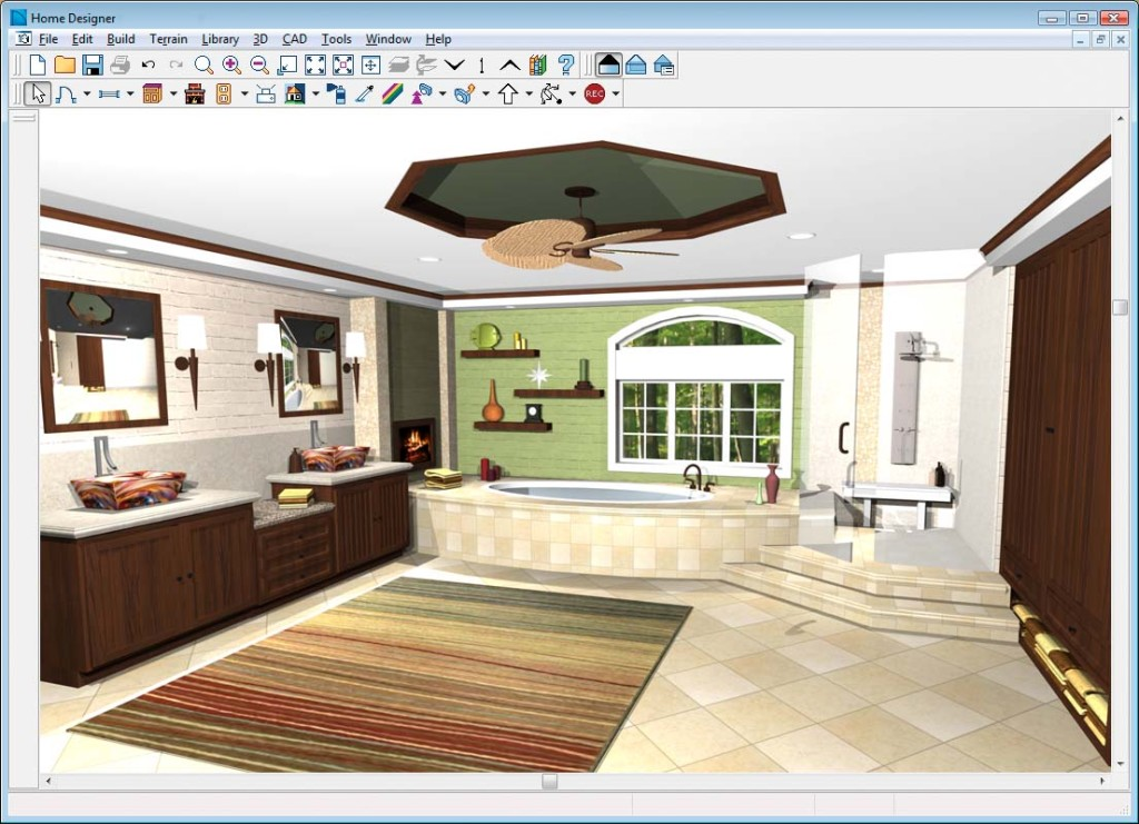 Interior design software nolettershome for Home architect design software free download