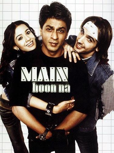 Main Hoon Na (2004) Movie Poster