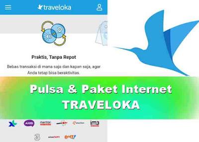 Isi Pulsa atau Paket Internet di Traveloka Cepat, Mudah dan Aman