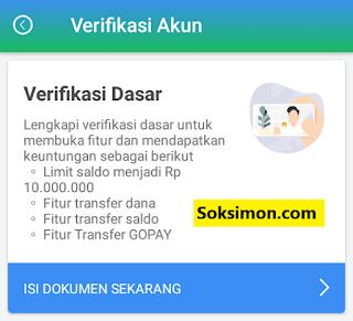Keuntungan verifikasi akun dasar Payfazz