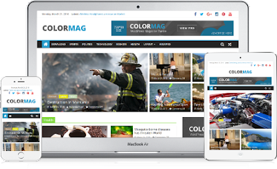 colormag wordpress template 2017