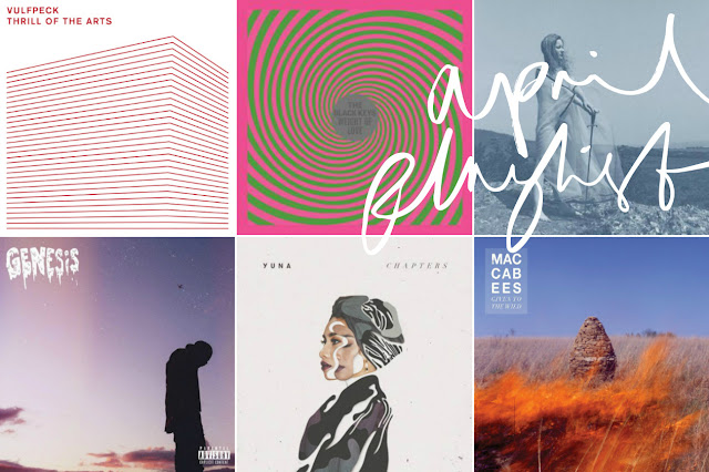 ALG April Playlist 2016 - Album Artwork