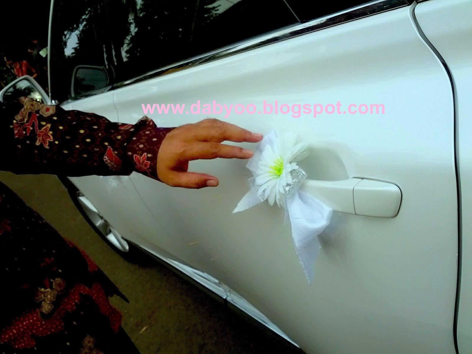 The Beginning Wedding Car Decoration Dekorasi Mobil Pengantin