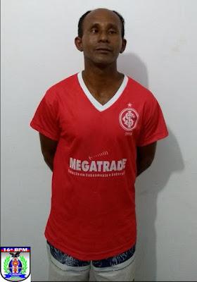 Acusado de estuprar as 03 enteadas, sendo que uma está grávida, homem é preso em São Benedito