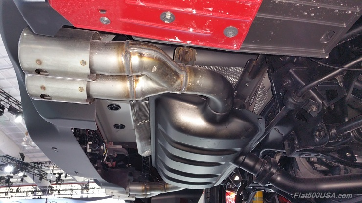 124 Abarth Exhaust Preproduction System Shown: Fiat 500 Monza Exhaust At Woreks.co