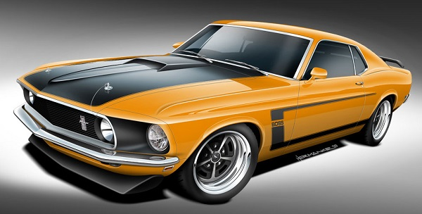 Classic Recreations Ford Mustang Boss 302