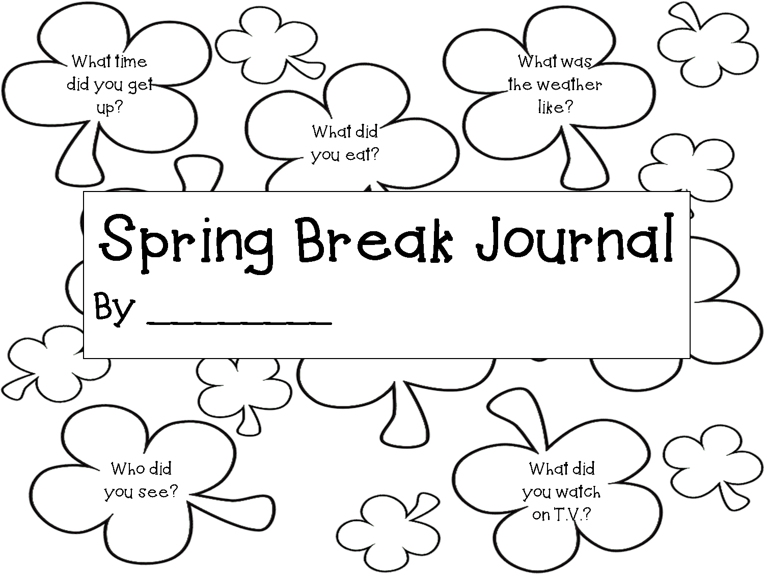 Teachershq Spring Break Homework