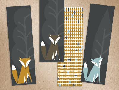printable fox bookmarks printable fox bookmarks how about orange 2765