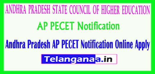 Andhra Pradesh AP PECET APPECET 2018 Notification Online Apply
