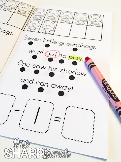Looking for some great Groundhog's Day books and a variety of engaging Groundhog's Day activities for the primary classroom?!  Head on over to grab a St. Patrick's Day FREEBIE perfect for the story Ten Grouchy Groundhogs!