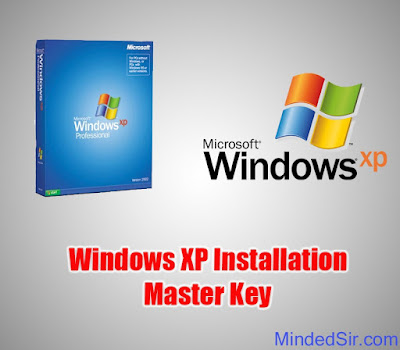 Windows XP/ Windows 7 Master Crack Key For Installation | Hindi