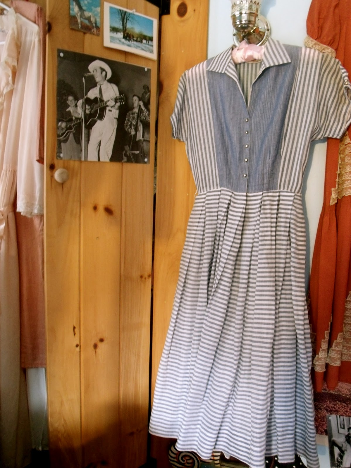 Charming Warm Weather Vintage Inspired Frocks Featuring: Sweetheart Of The Rodeo: Summertime Blues