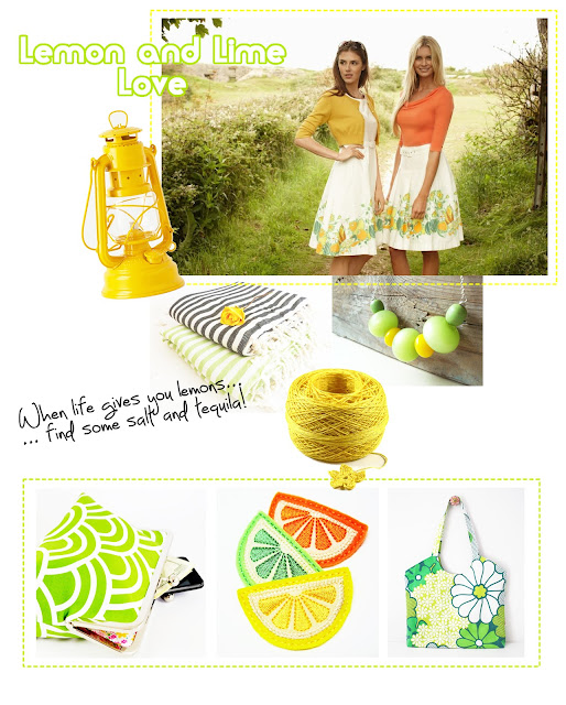 Lime and lemon inspiration