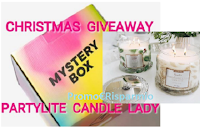 Logo Christmas Giveaway Partylite: vinci gratis una esclusiva Mistery Box