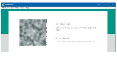 QR code for whatsapp