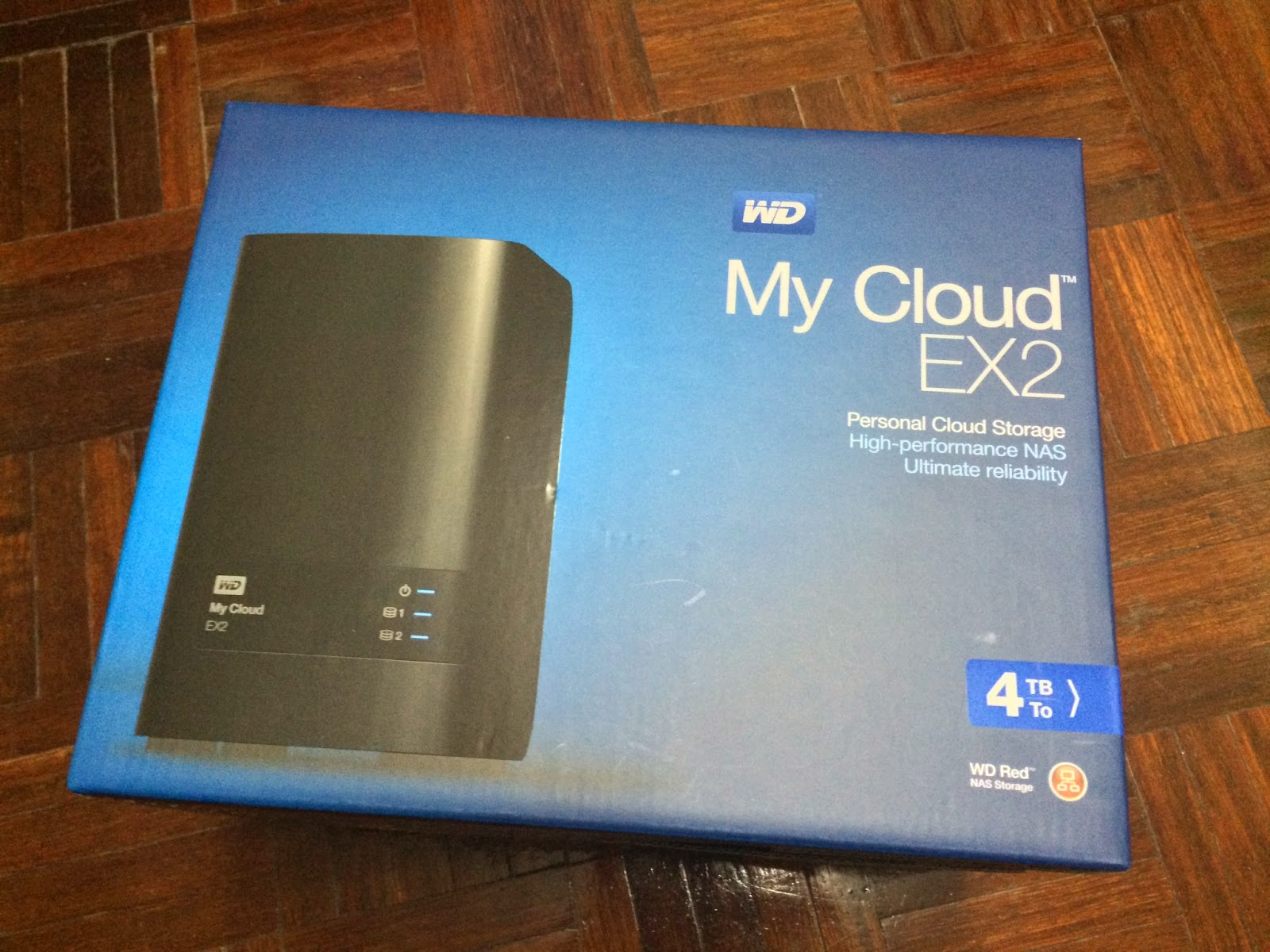 Unboxing & Review: Western Digital My Cloud EX2