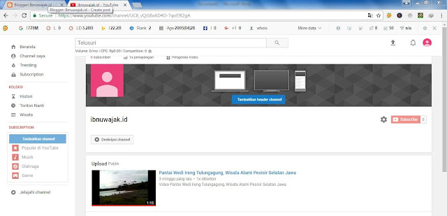penyebab channel youtube dihapus google