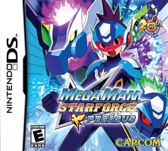 MegaMan Star Force - Pegasus (E) (NDS)