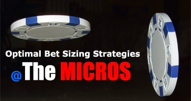 poker bet sizing