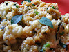 Minted Tamari Quinoa and Cauliflower with Pine Nuts