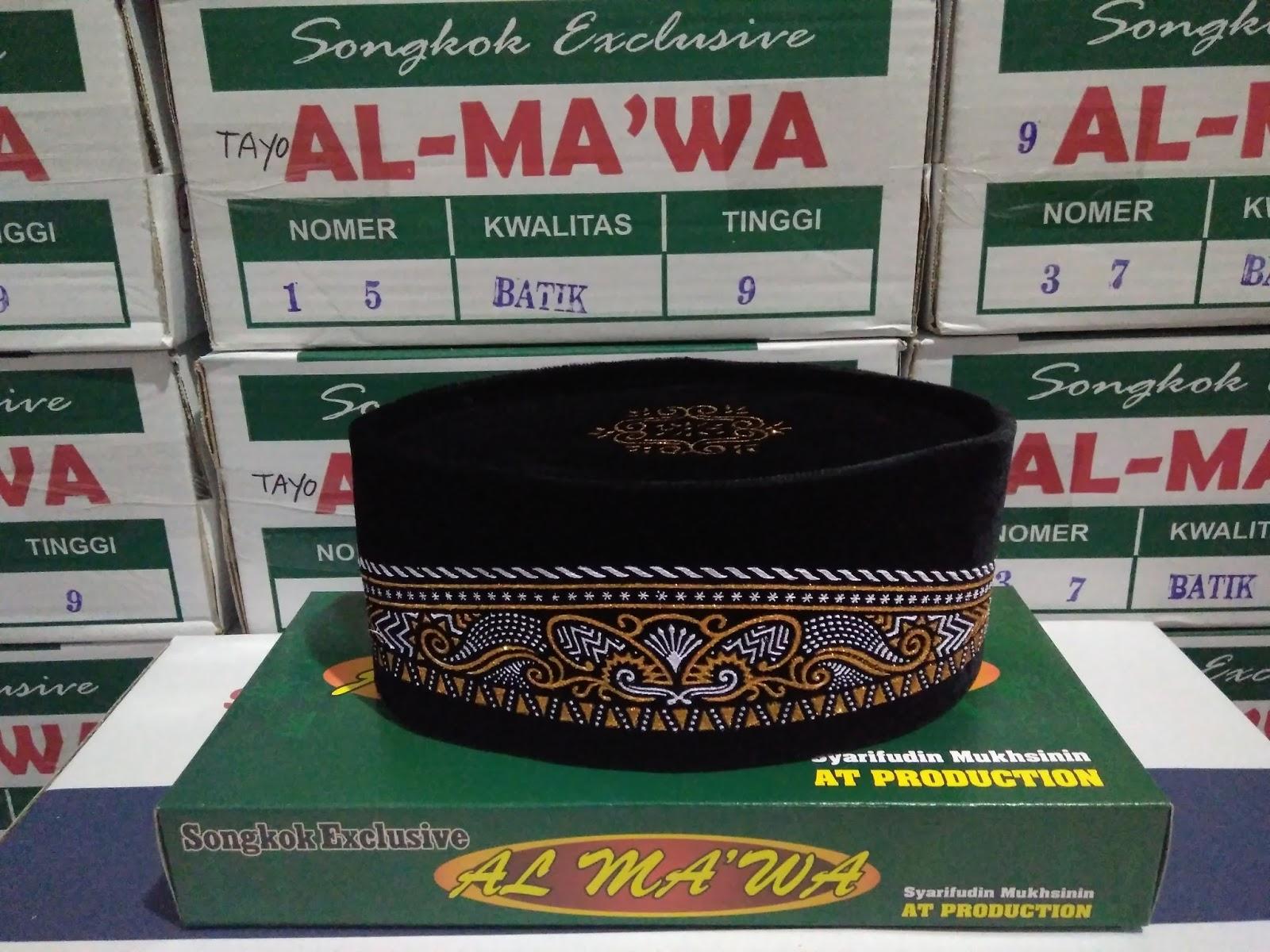 AT PRODUCTION PRODUSEN SONGKOK INDONESIA merupakan produsen songkok home industri dari Kebumen Indonesia