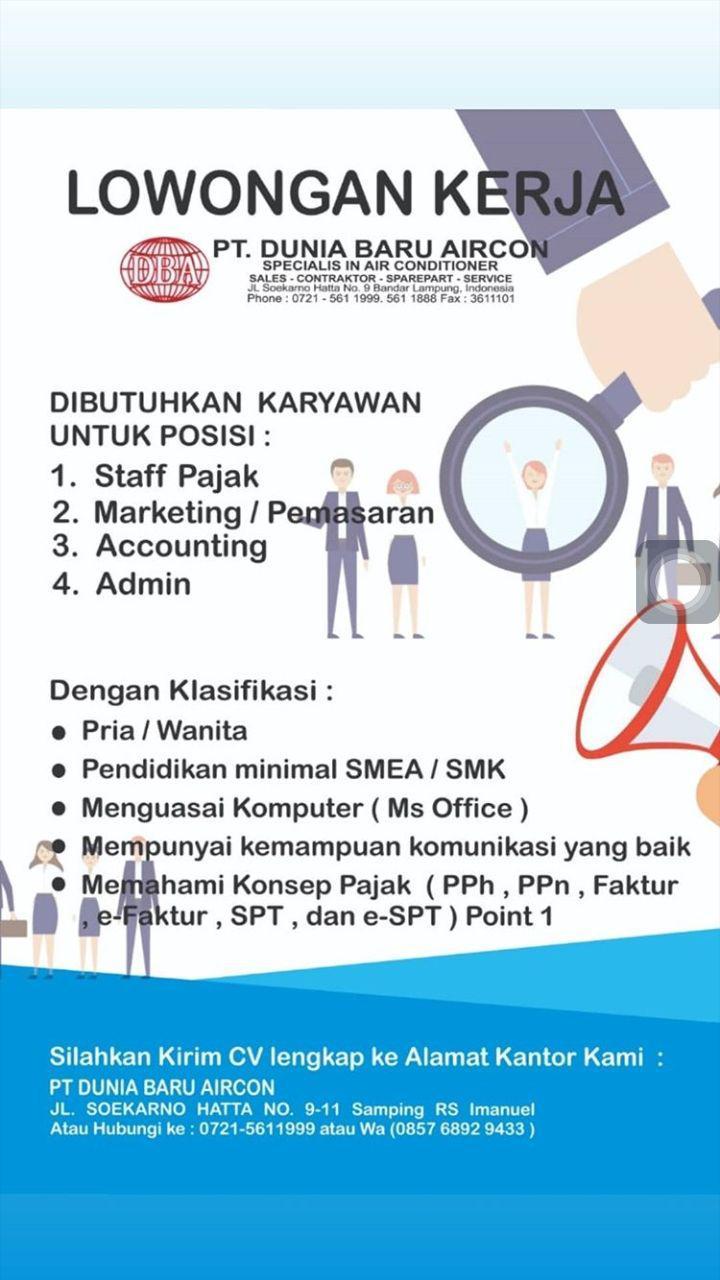 Bursa Kerja Lampung : bursa, kerja, lampung, Bursa, Kerja, Bandar, Lampung