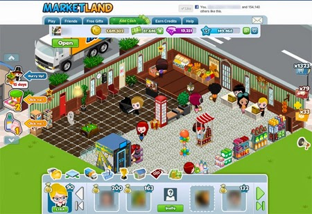 marketland facebook game لعبة فيس بوك