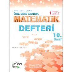 ÜçDörtBeş 10.Sınıf Özel Ders Tadında Matematik Defteri 1.Defter