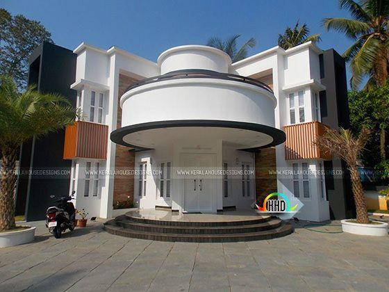 unique completed house in Kerala