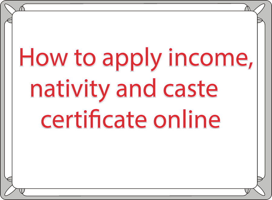 Online Income Download Online Income Certificate